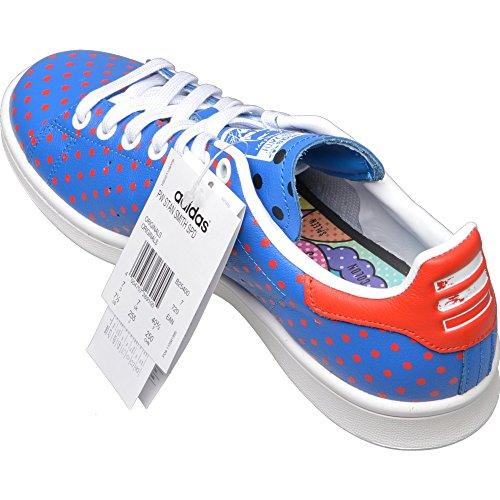 Adidas Originals Pw Stan Smith Mens Spd Entrenadores las zapatillas de deporte (uk 6,5 con nosotros BLUBIR/RED/FTWWHT B25400