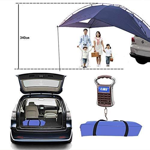 EGECL Car Tent - Folding Sunshade Carports - Anti-UV Roof Top Tent - Car Sun Shelter Awning - Hiking, Climbing, Fishing by EGECL (Image #3)