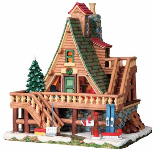 Lemax Vail Village Collection Woodland Retreat Lighted Building #95847 - Lemax Vail Village