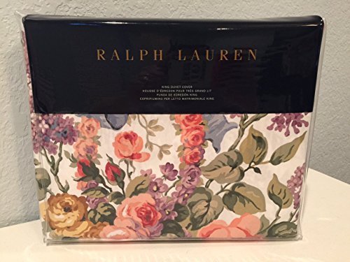Ralph Lauren Allison Floral Archival Collection King Duvet Cover