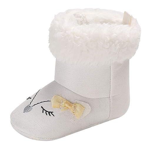Botas para Bebe Niñas Niños Otoño 2018 Moda PAOLIAN Botines Alta Ayuda Planos Invierno Zapatos Primeros
