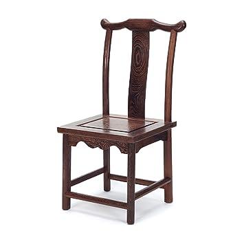 XIAOLVSHANGHANG HHCS Antike Sessel Mode Holz Stuhl Freizeit Stuhl ...