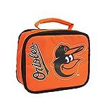 The Northwest Company MLB Baltimore Orioles Sacked Lunchbox, 10.5-Inch, Orange
