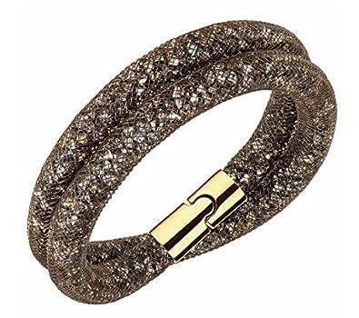 3d472a0021948 Swarovski Stardust Brown Double Bracelet - 5185872