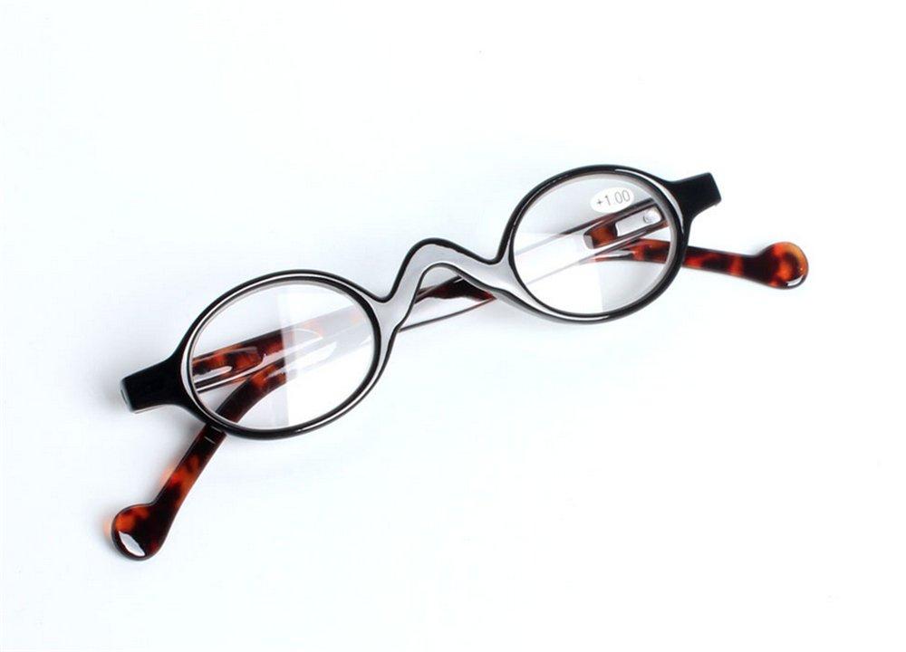 46de3da5d12 Amazon.com  First View Professor Round Unisex Vintage Style Reading Glasses