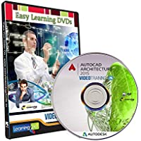 Easy Learning AutoCAD Architecture 2015 Video Training Tutorial (DVD)