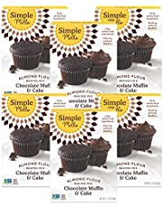 Simple Mills Almond Flour Mix, Chocolate Muffin & Cake, 10.4 oz, 6 count