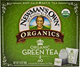 Newman's Own Organics, Green Tea Bags, 40 Count (Pack of 6)