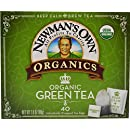 Newman's Own Organics Green Tea, 40 Count (Pack of 6)