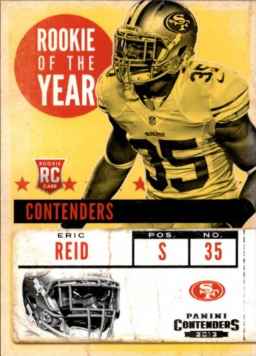 2013 Panini Contenders ROY Contenders #19 Eric Reid - NM-MT