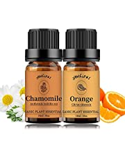 Essential Oil Aromatherapy Oil, 100% Pure Essential Oils for Diffuser, Humidifier, Massage 10ML*Top 2 Set