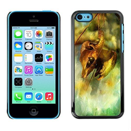 Premio Sottile Slim Cassa Custodia Case Cover Shell // F00003645 l'automne // Apple iPhone 5C
