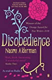 Front cover for the book Disobedience by Naomi Alderman