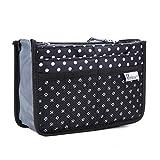 Periea-Handbag-Organizer--Chelsy-Small-BlackWhite