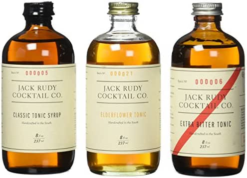Jack Rudy Cocktail Co ~ The Tonic Trio