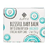 Alaffia - Blissful Baby Balm, For Dry to Extra Dry Skin, Moisturizing Support to Gently Soothe and Calm Baby with Shea Butter, Calendula, and Coconut Oil, Unscented, 2 Ounces