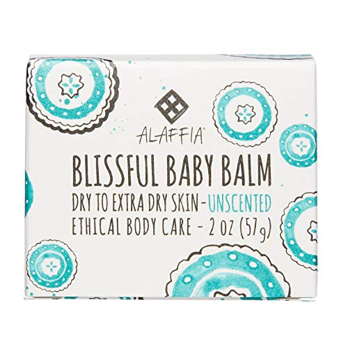Alaffia - Blissful Baby Balm, For Dry to Extra Dry Skin, Moi