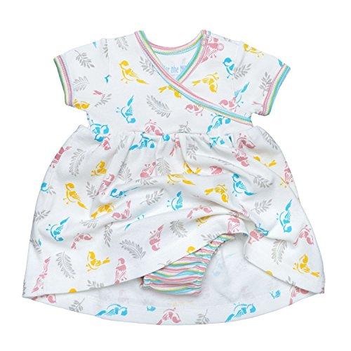 Under The Nile Cotton Romper (Under The Nile Baby Girls Zen Dress Baby Birds)