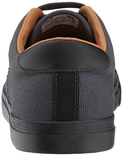 Charcoal Underspin Heavy Perry Waxed Sneaker Canvas Men's Fred w07qSw