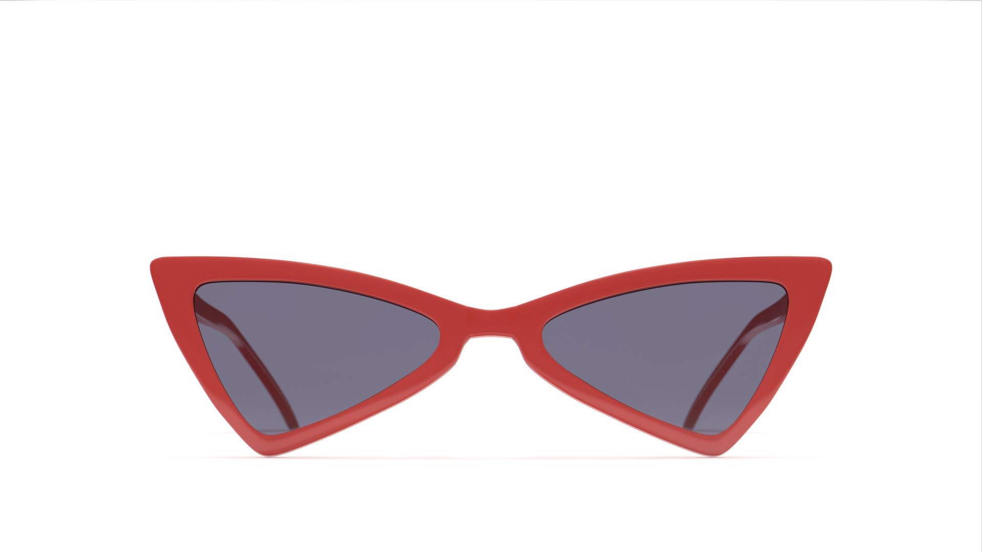 PRIVÉ REVAUX Places We Love Collection''The Bermuda'' Polarized Designer Cat-Eye Sunglasses
