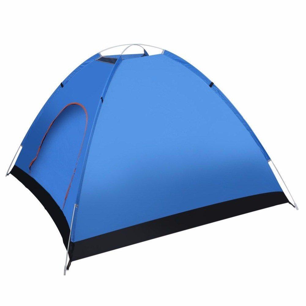 Malilove 3-4 Person Schnell Automatische Pop-Up Öffnung Strand Sonnenschutz Shelter Outdoor Camping Angeln Wandern Familienzelt
