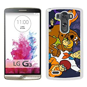 Popular And Fashionable Designed LG G3 Case ,Scooby Doo White LG G3 Skin High Quality Phone Case