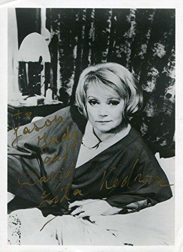 Lila Kedrova Real OSCAR autograph, signed photo