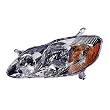 Depo 312-1160L-AS1 Toyota Corolla Driver Side Replacement Headlight Assembly