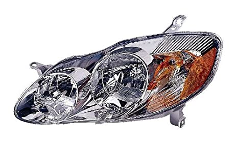 Depo 312-1160R-ASN1 Toyota Corolla Passenger Side Replacement Headlight Assembly 02-00-312-1160R-ASN1