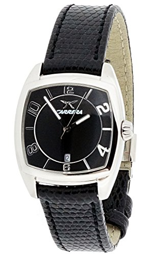 Carrera Wrist Watch (CARRERA Black Leather Watch-cw54582103051)