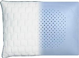 Carpenter Isotonic Perfect Cool Memory Foam Pillow, Standard Queen, 18 inch x 24 inch