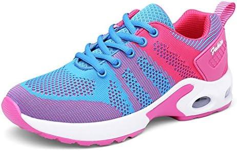 Luz de zapatillas de deporte zapatillas de mujer Malla transpirable Zapatos Muelles exteriores atlética Sneakers Mujer footing: Amazon.es: Deportes y aire libre