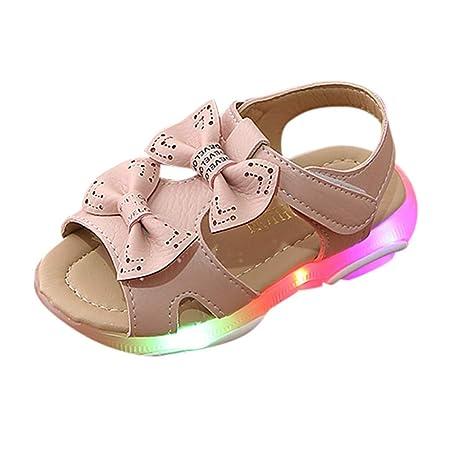 6f639df3869334 only storerine♚ 2019 été Enfants Sandales pour Les Filles en Cuir véritable  Noeud Papillon Princesse Chaussures Enfants Plage Sandales bébé chargé: ...