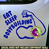 Best Gorilla Decals Bodybuilding Books - EAT SLEEP BODYBUILDING Vinyl Decal Sticker E Review