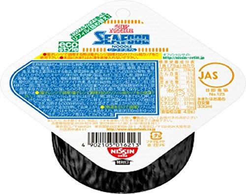 닛신식품(NISSIN) 컵 누들 리필 컵 누들 씨푸드 8개 들이