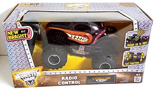 New Bright RC Radio Control Monster Jam Truck Monster Mutt Rottweiler 1:24 Scale