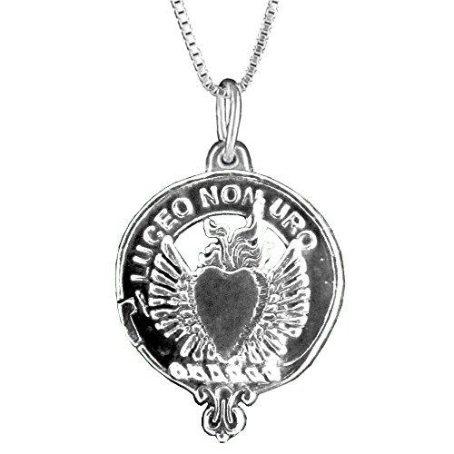 Smith Scottish Clan Crest Pendant - Sterling Silver (Crest Pendant Sterling Silver Jewelry)