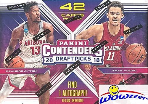 Panini Contenders NBA Draft Picks baloncesto Blaster box 2018//19 1 Autograph