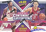 #8: 2018/19 Panini Contenders Draft Picks Basketball Factory Sealed Retail Box with AUTOGRAPH! Look for Rookies & Auto's of Deandre Ayton, Luka Doncic, Trae Young, Marvin Bagley & Many More! WOWZZER!