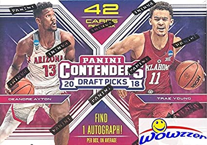 61752c68d 2018 19 Panini Contenders Draft Picks Basketball Factory Sealed Retail Box  with AUTOGRAPH! Look
