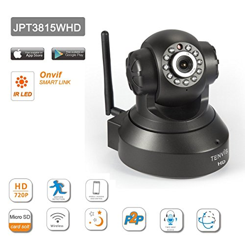 NEW VERSION TENVIS IP Camera -720P IP Camera Supporting Smart Wi-Fi, Night Vision Camera, Smart Camera for Pet Baby Monitor, Home Security Camera Motion Detection Indoor Camera with Micro SD Card Slot by TENVIS (Image #4)
