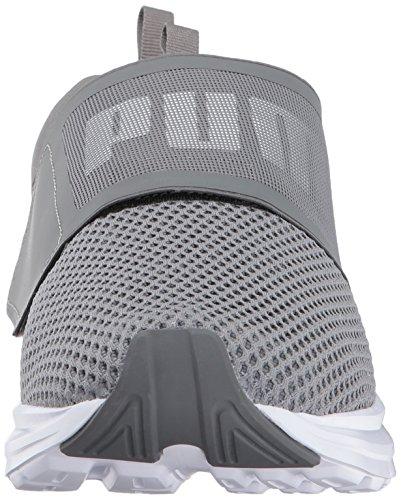 PUMA Herren Enzo Strap Sneaker Ruhiger Schatten-Puma Weiß