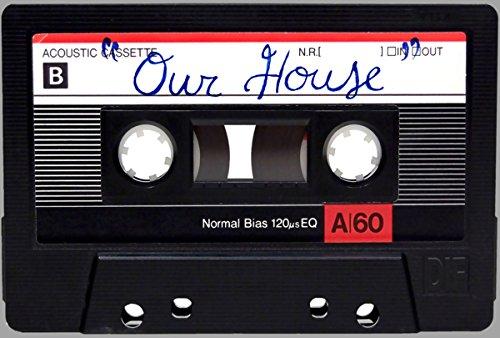 House Retro Music (Retro Our House Cassette Tape Doormat)