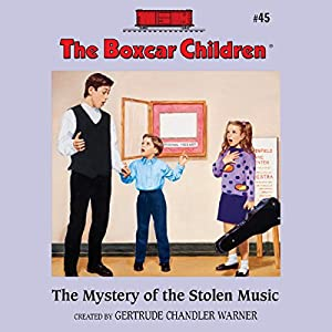 The Mystery of the Stolen Music Audiobook