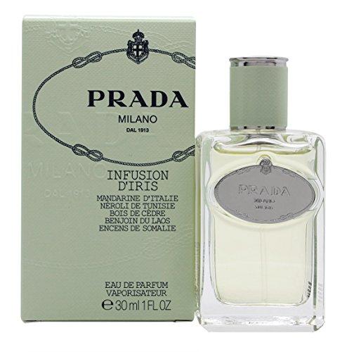 Milano Infusion Prada (Prada Infusion D'Iris Eau De Parfum Spray for Women, 1 Ounce)