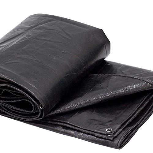 交流するチーフピック黒い防水性防水トレーラー日除け防水日除け布プラスチック製防水庭園プラント防風日焼け止め布200g /平方メートル(21サイズあり) (色 : 黒, サイズ さいず : 3 * 5m)