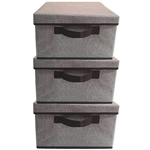 Storage Baskets With Lids