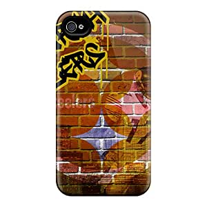 High Quality AbbyRoseBabiak Pittsburgh Steelers Skin Cases Covers Specially Designed For Iphone - 6