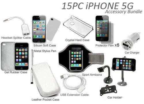 15-in-1-Classic-Accessory-Bundle-Kit-for-iPhone-5G-5th-Gen