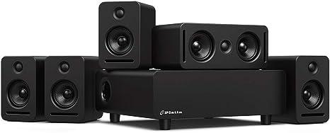 Sistema de audio para el hogar Mónaco 5.1 Inmersivo inalámbrico ...